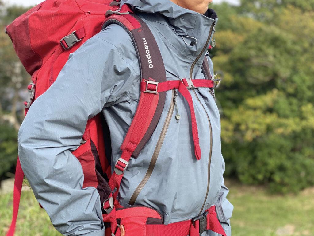 秋の山で着用してみました。OZE JACKET 2.0レビュー